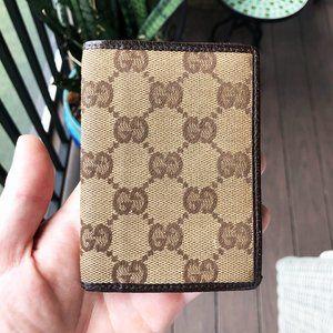 Gucci Monogram Vintage Card Holder